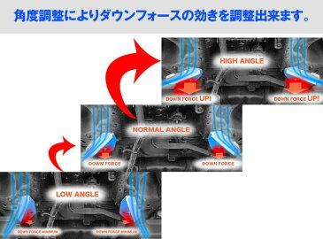 アケア:マークXGRX12# 2WD UFS アンダーフロアスポイラー ダウンフォースで走行安定 フロント用 UFSTO-00602
