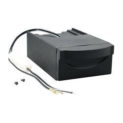 槌屋ヤック/YAC1DINボックス用アッシュトレイ照明付き引き出し式灰皿VP-D7/