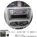ハセプロ/HASEPRO マジカルカーボン センターパネル スズキ ジムニー JB23W H10.10〜 本カーボン仕様 ブラック CCPSZ-1