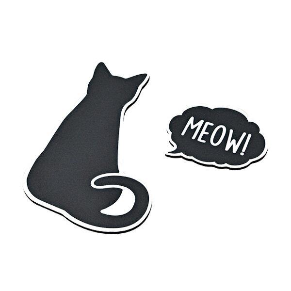 セイワ/SEIWA CAT すべり止めシート 猫 ネコ 水洗い可能 H130mm×W85mm×D3mm ブラック W951画像