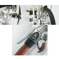 ミムゴSWINGCHARLIEロータイプ三輪自転車Gスイング機能前後カゴライト前輪錠ホワイトMG-TRE16G