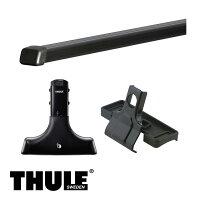 THULE/スーリーホーミー(バン含む)ハイルーフS55/8〜H13/5E23,E24キャリア車種別セット/420+765+422
