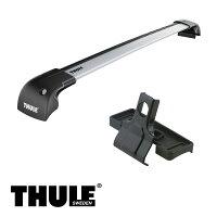 THULE/スーリーSX45ドアルーフレールなしH18/7〜キャリア車種別セット/753+9591+3092