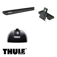 THULE/スーリーBMW3シリーズコンパクト(E46)'01〜'04AT#,AU#キャリア車種別セット/753+960B+3065