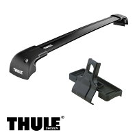 THULE/スーリーボルボXC60ダイレクトルーフレール付'08〜キャリア車種別セット/9595B+4006