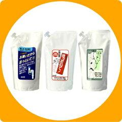 排水口に注ぐだけの排水管洗浄剤。お願いだからほっといて 500ml 詰替用 3袋セット【smtb-f】...