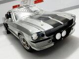 1/18 GREENLIGHT☆60セカンズ 1967 フォード・マスタング エレノア 銀【予約商品】