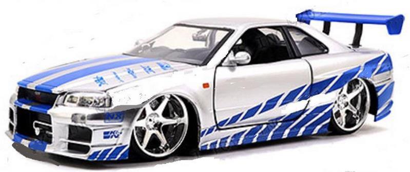車, ミニカー・トイカー  124 JadaTOYS GTR