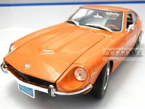 maisto特別モデル◎1/18 1971 ニッサン フェアレディz  240Z オレンジ 【予約商品】