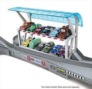 ◎ディズニーカーズ/豪華デラックス!フロリダ・スピードウェイ♪楽しい巨大フルセット!♪カーズおもちゃ