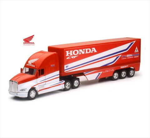 ミニカー 1/32 NEWRAY☆ Kenworth Trailer - Team Honda HRC トレーラートラック 【予約商品】