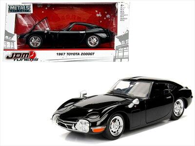 ミニカー1/24JadaTOYS☆1967トヨタ2000GTJDMTUNERS赤限定モデル【予約商品】