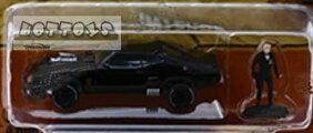ミニカー1/64GREENLIGHTマッドマックスフィギュア付きインターセプターフォードXBファルコン【限定品予約商品】
