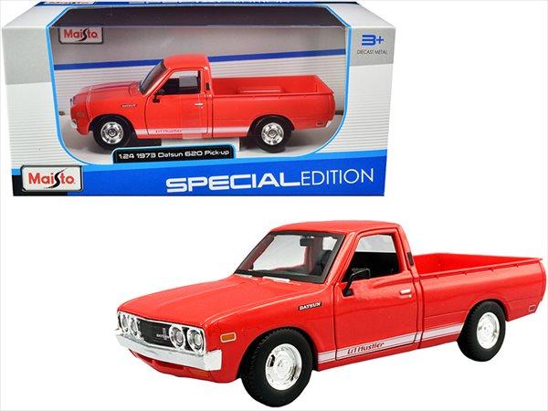 車, ミニカー・トイカー  124 maisto 1973 Datsun 620 Pickup