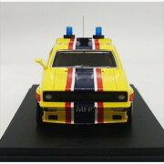 ミニカー1/43☆マッドマックスBIGBOPPERXBPURSUIT1974フォード・ファルコンV8インターセプター黄色MFP4ドアセダン「インターセプター」フォードXBファルコン【限定品予約商品】