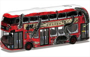 ミニカー1/76ロンドンバスクラーケンブラックスパイスドラム仕様ライトバス・ニュールートマスターCORGI赤【予約商品】