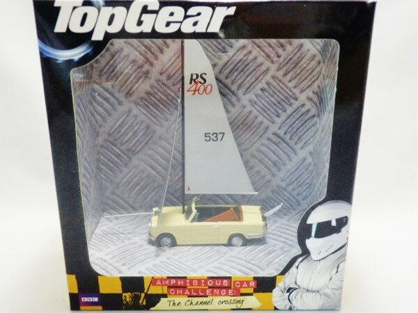 ◎OXFORD☆1/43 トライアンフ・ヘラルド ボートカー 「TOP GEAR番組登場車」