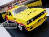 ミニカー1/43☆マッドマックス1974フォード・ファルコンV8インターセプター黄色MFP4ドアセダン「インターセプター」フォードXBファルコン【限定品予約商品】