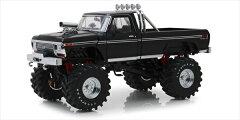 ミニカーGREENLIGHT1/18モンスタートラック黒MonsterTruck-1979FordF-250黒モンスタージャム【予約商品】