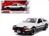 ミニカー1/24JadaTOYS1986トヨタスプリンタートレノAE86白予約商品