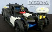 【ラジコンカー】◎巨大!トランスフォームラジコンRadicon!バットマンバットモービルサウンド&ミサイル発射付