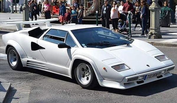 車, ミニカー・トイカー GT SPIRIT18 LP5000 QV Bianco Polo