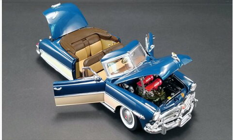 ミニカー ACME 1/18 1952 ハドソン・ホーネット コンバーチブル 青 Hudson Hornet Convertible【予約商品】