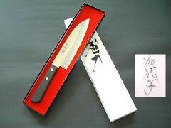 【ステンレスと鋼の三層構造】堺松翁作文化包丁165mm(名入れ)