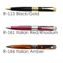 ITO-YA(伊東屋)ROMEONo.3ボールペン太軸黒/ゴールドメッキR-113
