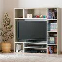 テレビの周りでしっかり収納♪ 壁面収納 テレビ台 【送料無料】 ハイタイプ テレビボード 収納 棚 カラーボックス ハイタイプ テレビ台 木製 32型 激安 格安 おしゃれ 安い 組み立て 一人暮らし