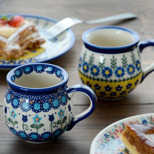 ポーリッシュポタリーポーリッシュマグ(小)200ml[V337]【ポーランド食器マグカップ陶器polishpottery洋食器VENA社ギフトうつわ】