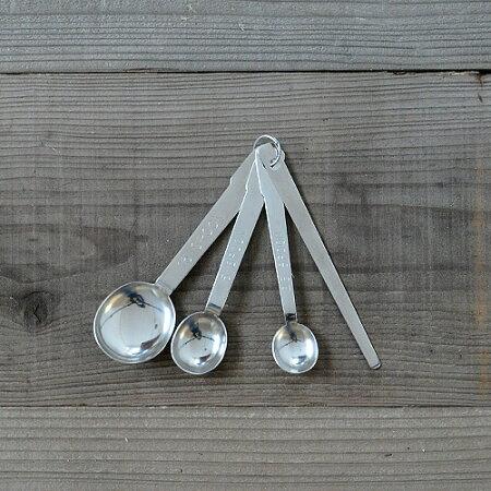工房アイザワ軽量スプーン3種+ヘラ【あいざわ調理小物調理器具キッチン用品テーブルウェア】
