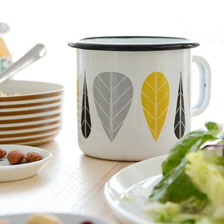 【ポイント10倍】ムールラリーブシリーズほうろうマグカップ370ml【北欧食器muurla北欧洋食器コップ琺瑯ホウロウテーブルウェア】