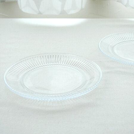 ムールラノスタルジーシリーズガラス製プレート2個セットφ18cm【北欧食器丸皿muurla洋食器ガラス食器テーブルウェアマリメッコ送料無料】