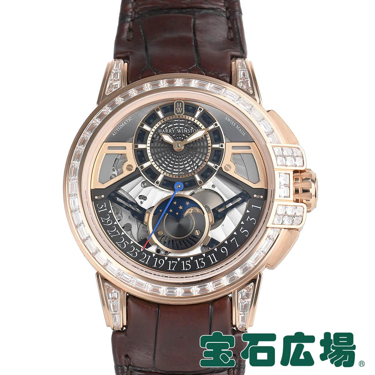 ハリー ウィンストン HARRY WINSTON オーシャン ムーンフェイズ オートマティック42mm 限定生産20本 OCEAMP42RR002【新品】メンズ 腕時計 送料無料