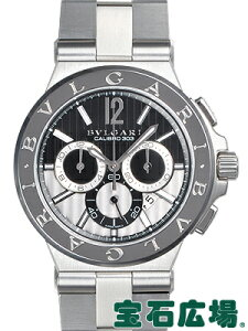 ブルガリ ディアゴノキャリブロ303 DG42BSSDCH 【中古】【メンズ】【腕時計】【送料・代引手数料無料】