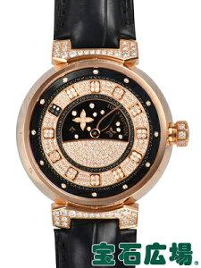 ルイ・ヴィトン タンブール スピンタイム ジュエリー Q11C50【中古】【ユニセックス】【腕時計】【送料・代引手数料無料】