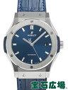 ウブロ クラシックフュージョン チタニウム ブルー 542.NX.7170.LR【新品】 メンズ 腕時計 送料無料