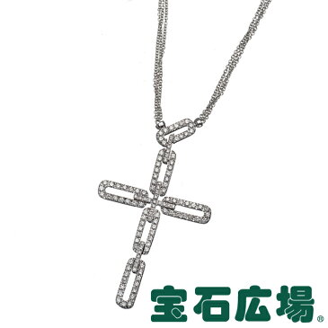 ダミアーニ インスィエメ クロス ダイヤ ネックレス 20007114【中古】 ジュエリー 送料・代引手数料無料