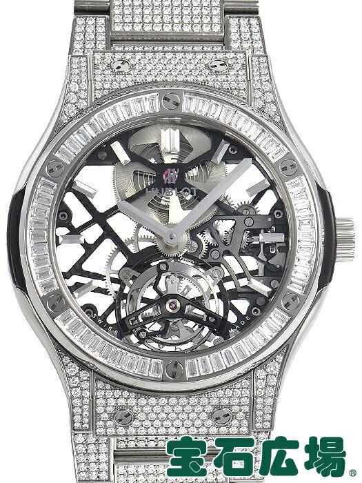 ウブロ HUBLOT クラシックフュージョン トゥールビヨンチタニウムダイヤモンド 505.NX.0170.NX.3904【新品】 メンズ 腕時計 送料・代引手数料無料