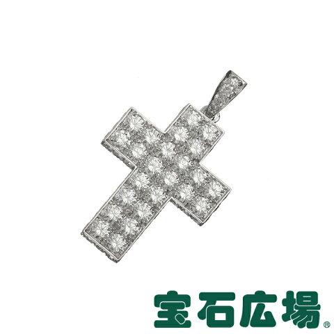 カルティエ スクレ ドゥ ブドゥワール クロス ダイヤ ペンダントヘッド HP300029【中古】 ジュエリー 送料無料