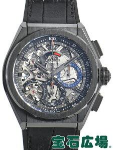 ゼニス ZENITH デファイ エルプリメロ21 ブラックセラミック 49.9000.9004/78.R582【新品】 メンズ 腕時計 送料無料