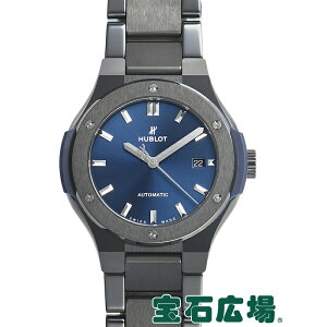 恒宝HUBLOT Classic Fusion Ceramic Blue 585.CM.7170.CM [New]女士手表免费送货