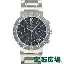ブルガリ BVLGARI ブルガリブルガリ クロノ BB38BSSDCH/N【中古】メンズ 腕時計  ...