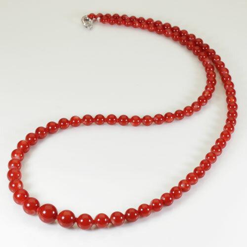 血赤珊瑚ネックレス