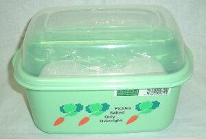 美味しいお漬物がお手軽にできる!冷蔵庫にぴったり!卓上漬物器 角型お好み漬(漬物石付) K−4