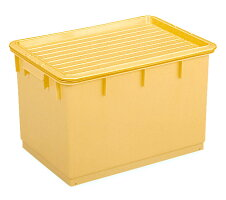 トンボプラスチック角型つけもの容器54型(押し蓋付)