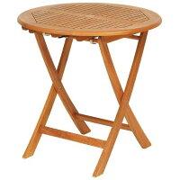 オルネドシエスタ天然木ラウンドテーブル70cmT−3