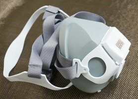 三光化学工業防毒マスクGH715スカイマスク用吸収缶直結式小型G37S1/研究機器塗装防毒
