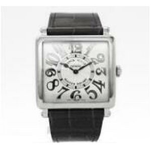 [New] FRANCK MULLER TOWN CARBEX LONG ISLAND 6002 M QZ BL REL V AC Stainless Steel Ladies Wrist Watch